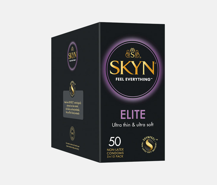 SKYN® ELITE 50 PACK OF NON LATEX CONDOMS
