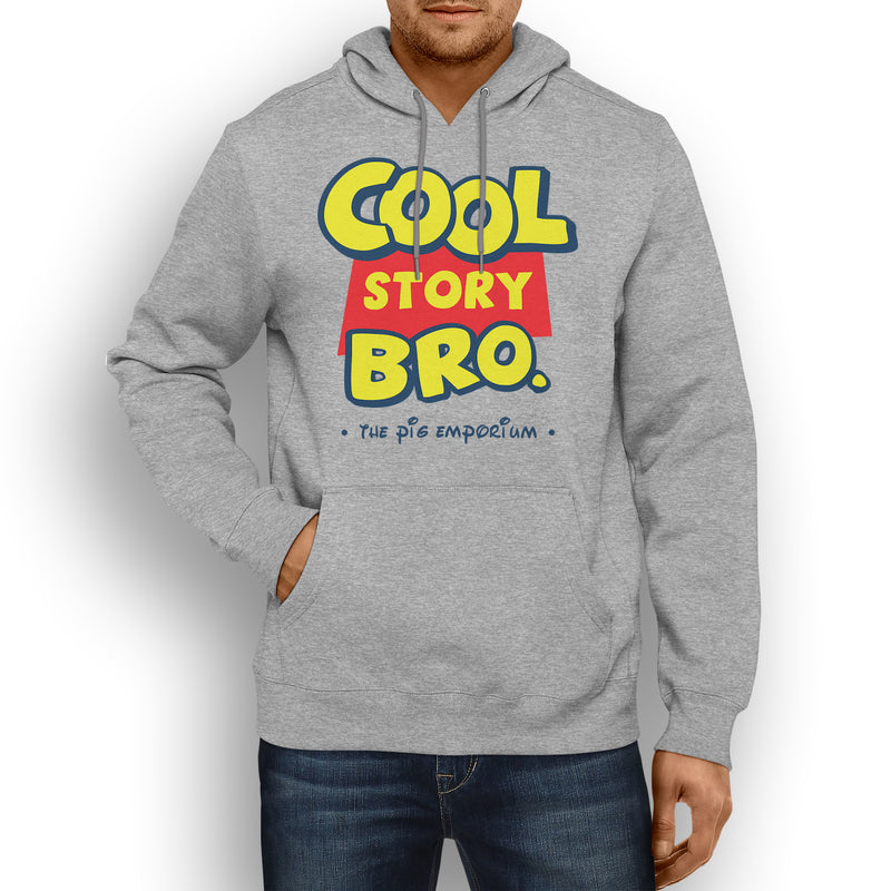 Parody inspired Logo Cool Story Bro. - Hooded Sweat - Pig Emporium