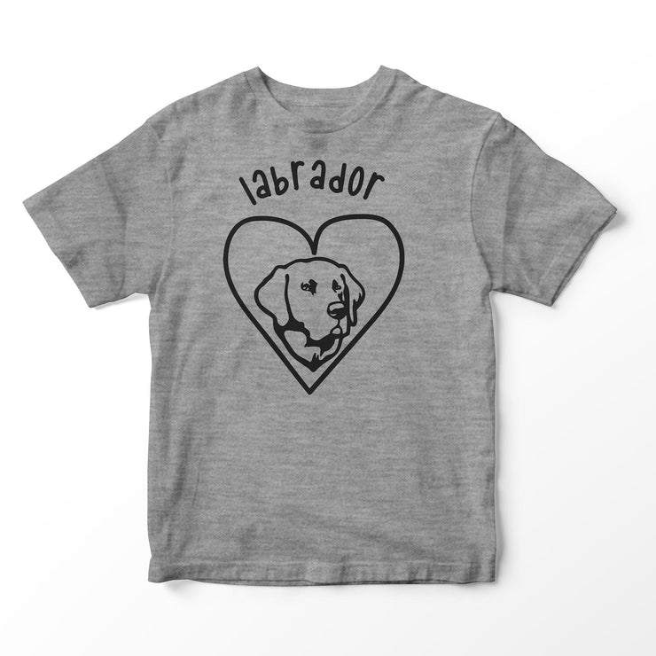Love my Dog Labrador T-shirts - Pig Emporium