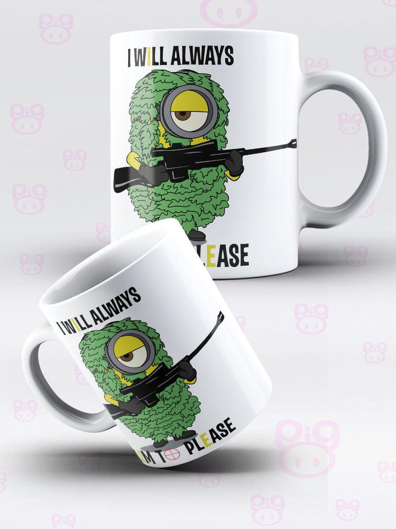 Despicable Inspired Aim to Please - Sniper Mug