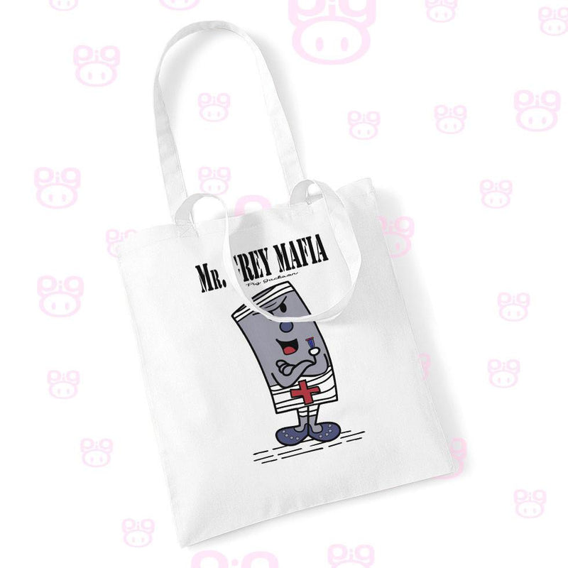 Mr. Grey Mafia Tote Bag - Pig Emporium