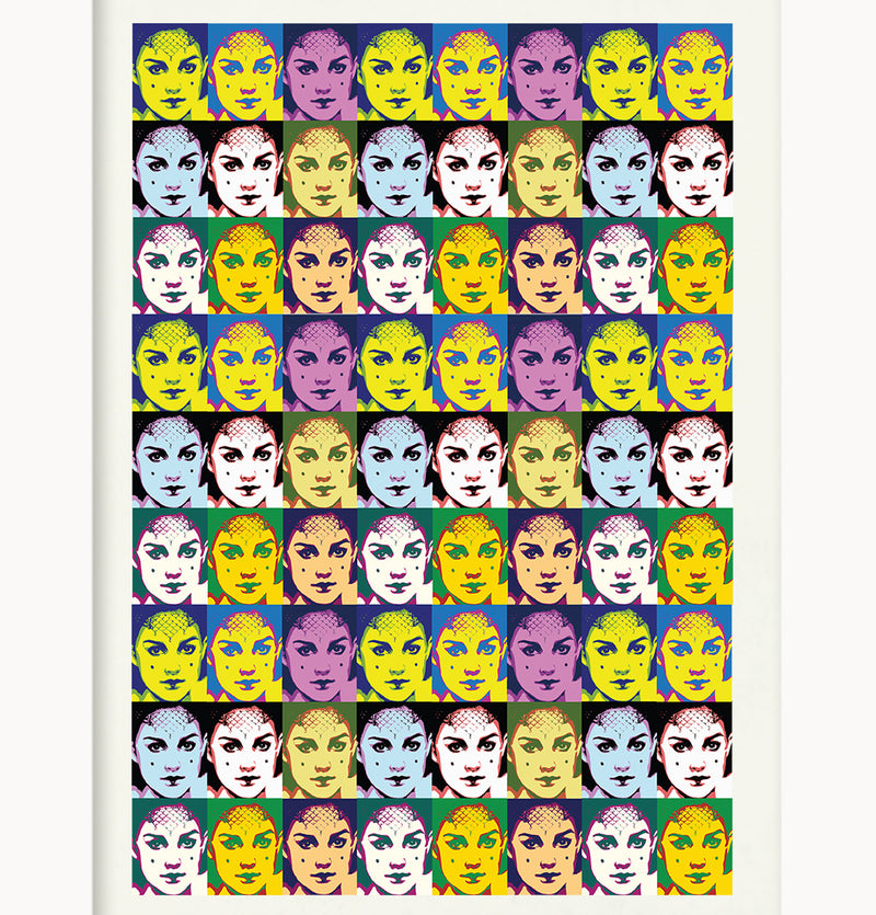Giclée Print Star Warhol Collection  by Pig Jackson - Padme Reaping on me - Pig Emporium