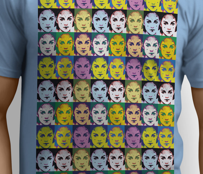 Star Warhol Padme Repeating on me - Unisex Tee