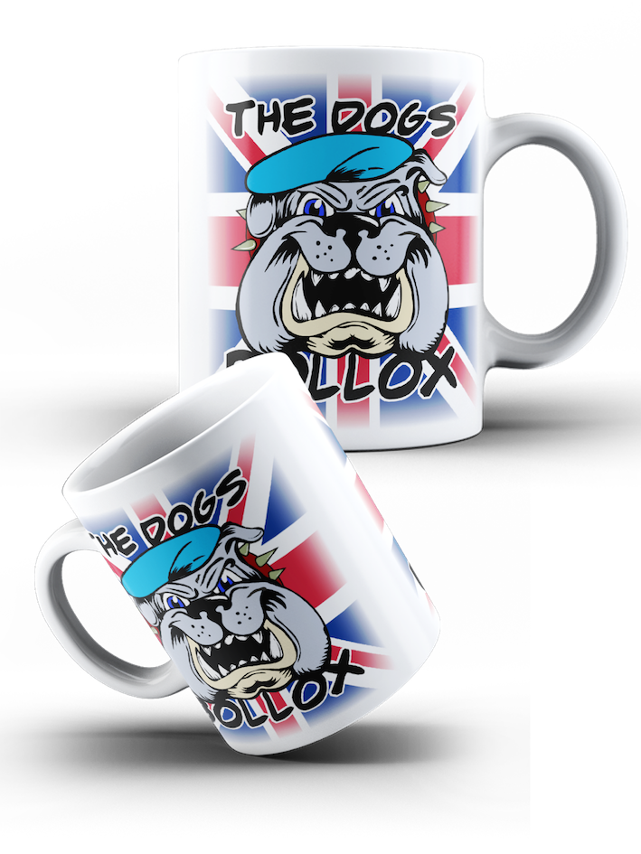 British Army Air Corps - Union Jack Flag; AAC Dogs Bollox Mug - Pig Emporium