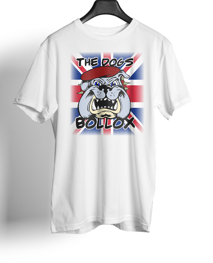 British Airborne Forces - Union Jack Flag; ABF Dogs Bollox - T-shirts - Pig Emporium