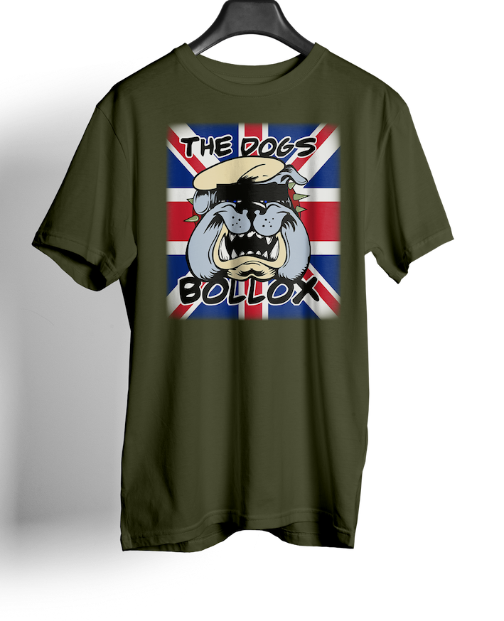 British Special Forces - Union Jack Flag; SF Dogs Bollox - T-shirts
