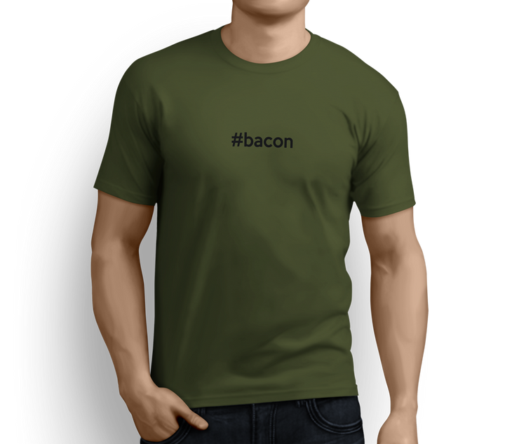 #Bacon  – For the absolute bacon Lover - T-shirts - Pig Emporium