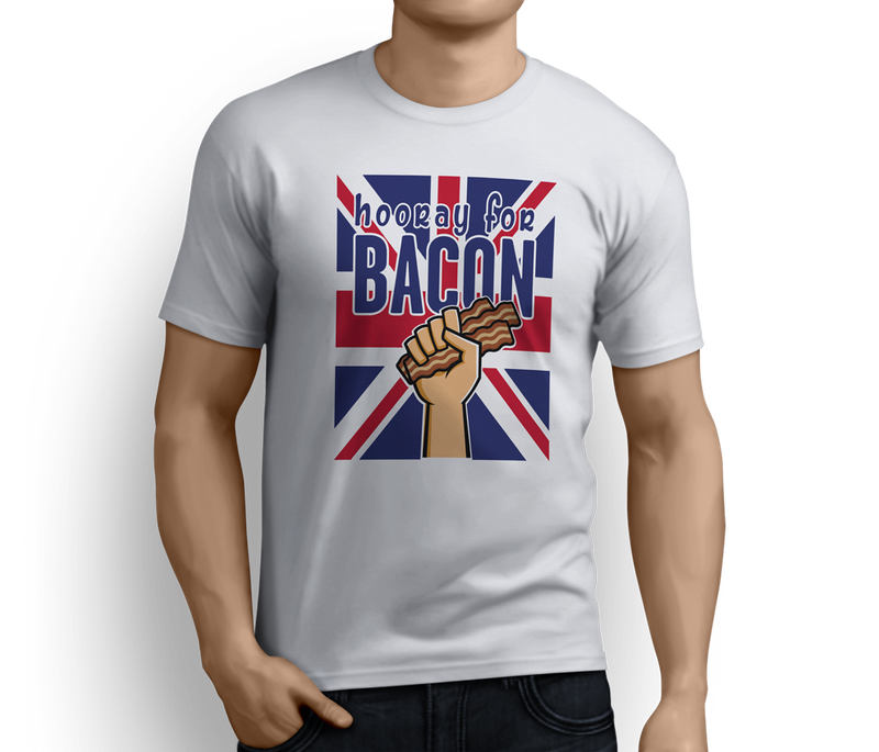 Hooray for Bacon  – Unisex T-shirts