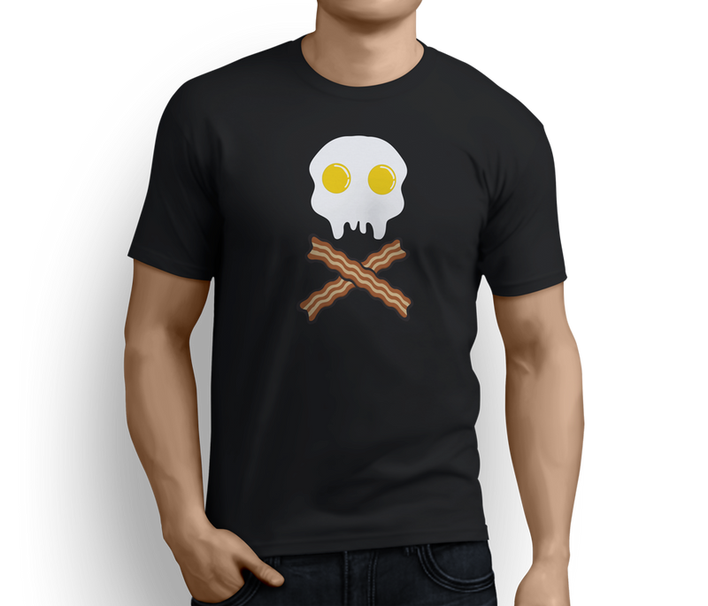 Skull & Cross Bacons  – Unisex T-shirts