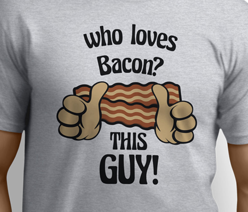 Who Loves Bacon - This Guy Unisex T-shirts