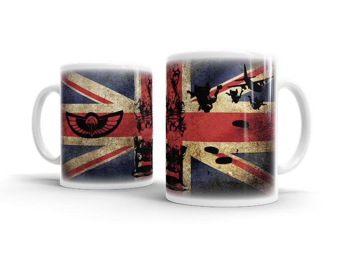Airborne Forces SAS HALO – Union Jack Mug