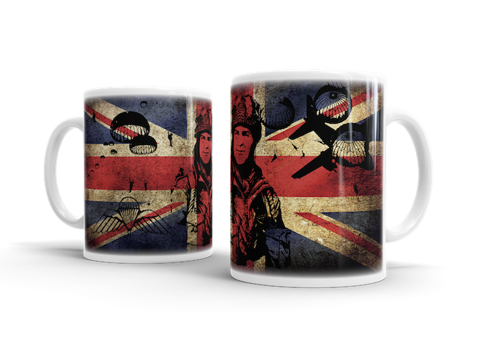 Airborne Forces WW2 What Manner of Men – Union Jack Mug - Pig Emporium
