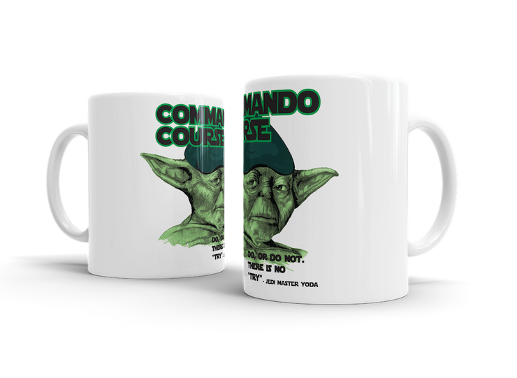 Commando Course Do or Do Not - Mug - Pig Emporium