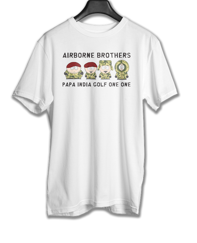 Airborne Brothers - PIG11 T-shirts