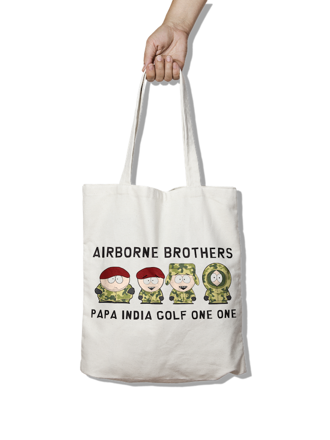 Airborne Brothers - PIG11 Tote Bag