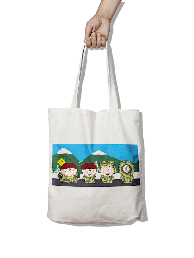 Airborne Brothers - PIG11 Scene Tote Bag