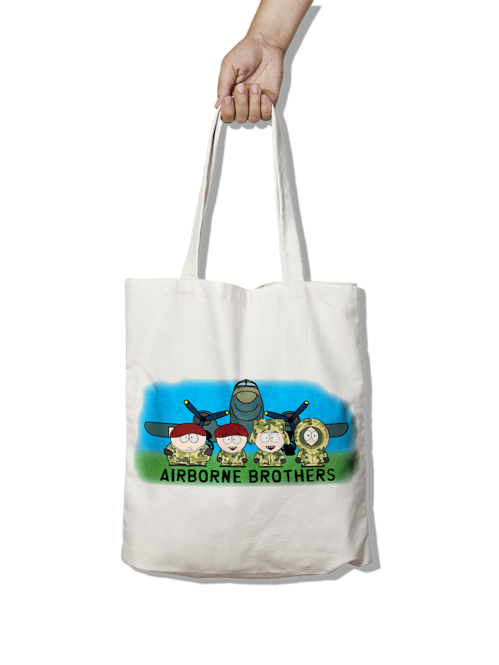 Airborne Brothers - Dakota Scene Tote Bag
