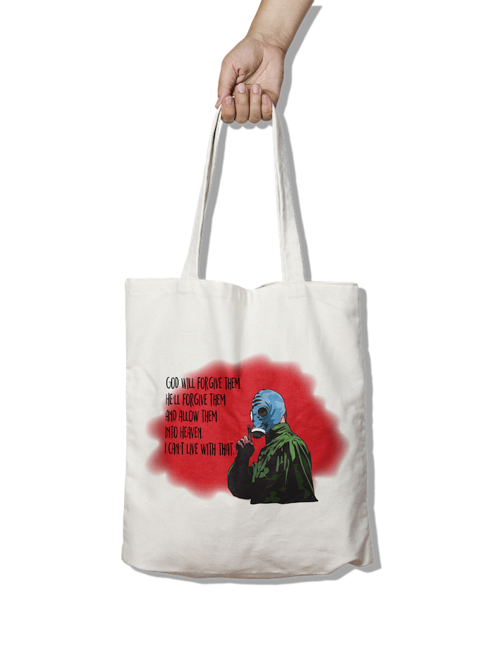 Dead Man's Shoes Inspired God will forgive them Tote Bag
