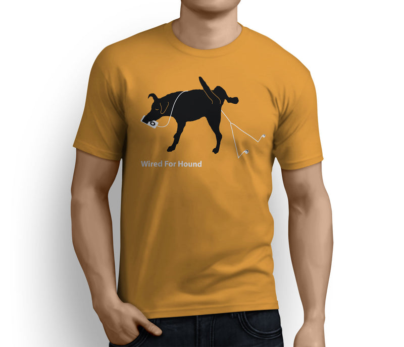 Wired For Hound – Unisex T-shirts