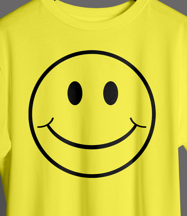 Yellow Smiley T Shirt