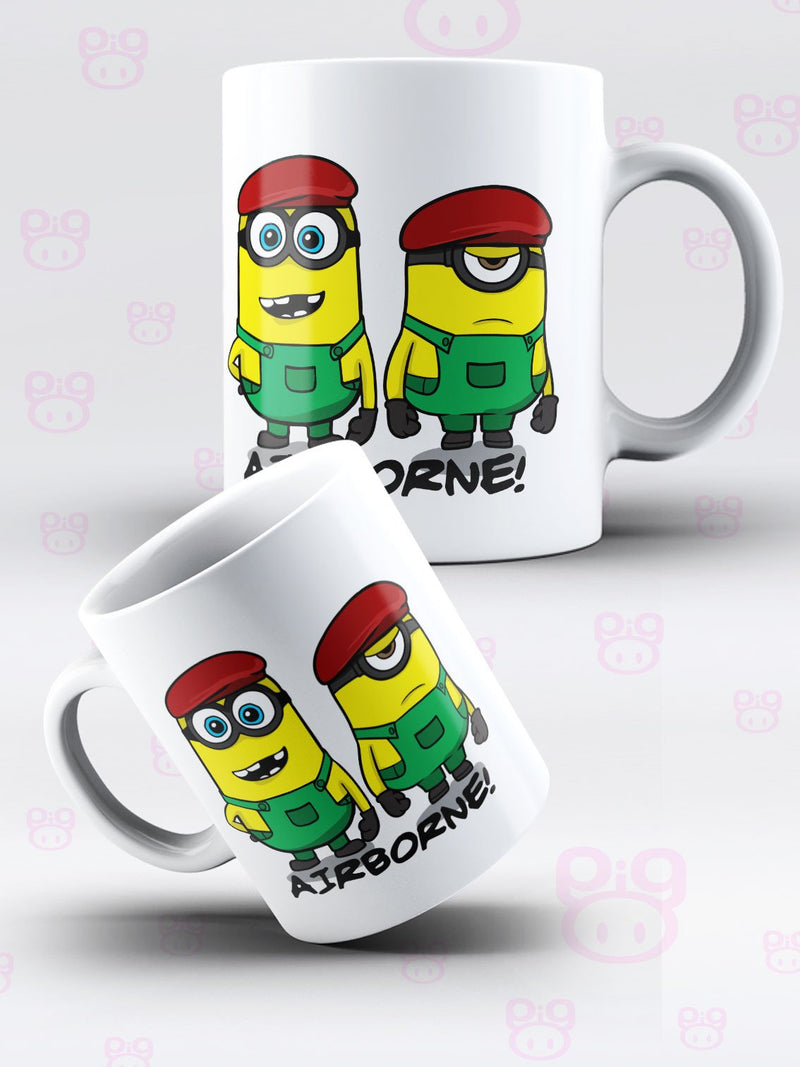 Despicable Airborne Mug & Coaster