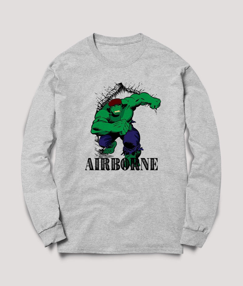 British Airborne Forces  Green Rage - Sweats - Pig Emporium