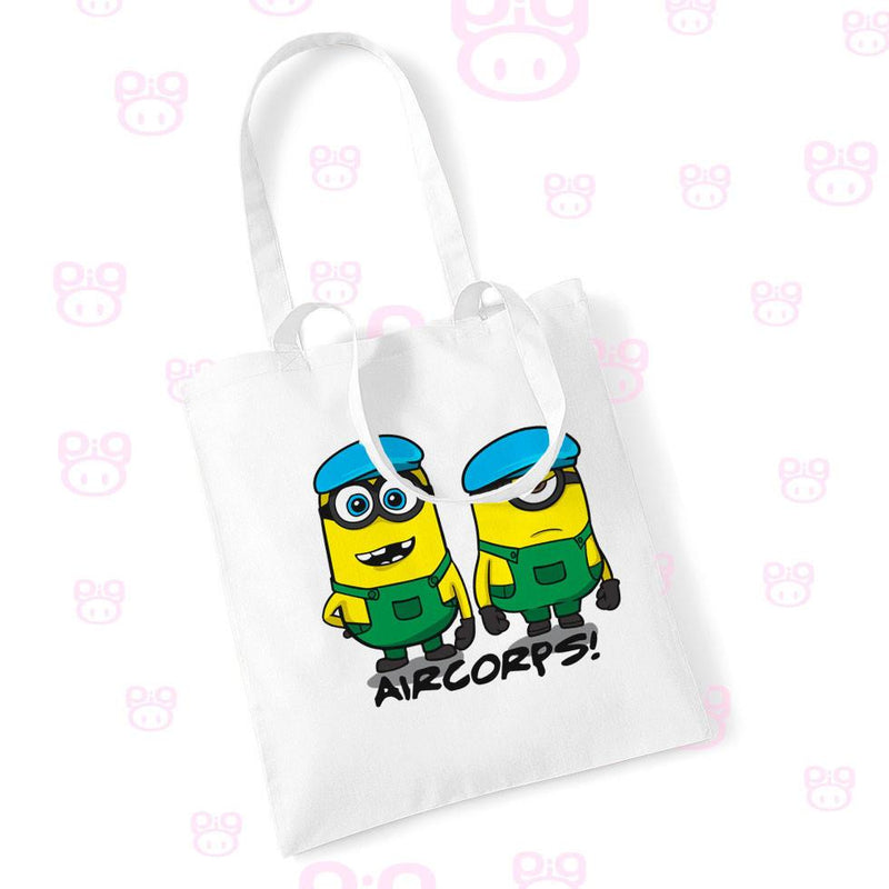 Despicable Air Corps Shopping Bags - Pig Emporium