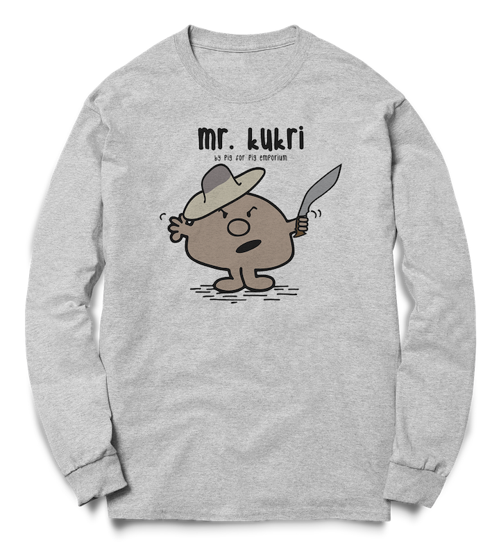 Mr. Kukri Unisex Crew Sweat - Pig Emporium