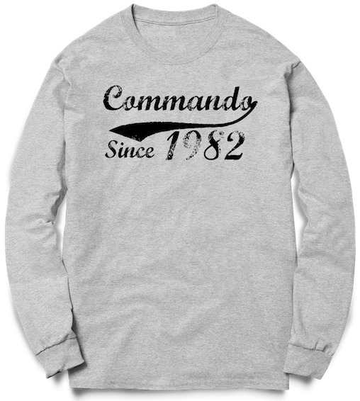 Commando Since - Crew Sweat - Pig Emporium