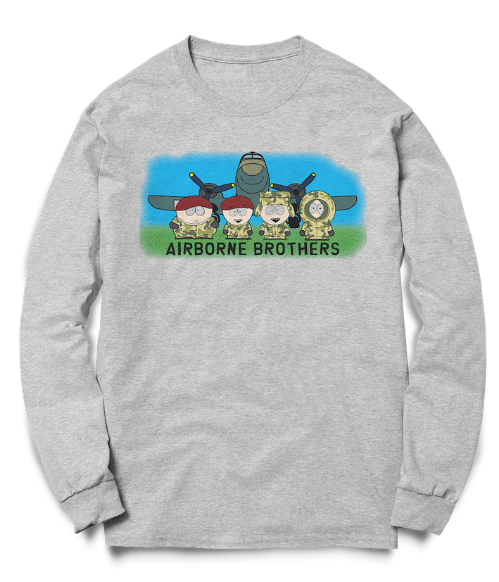 Airborne Brothers - Dakota Crew Sweat - Pig Emporium
