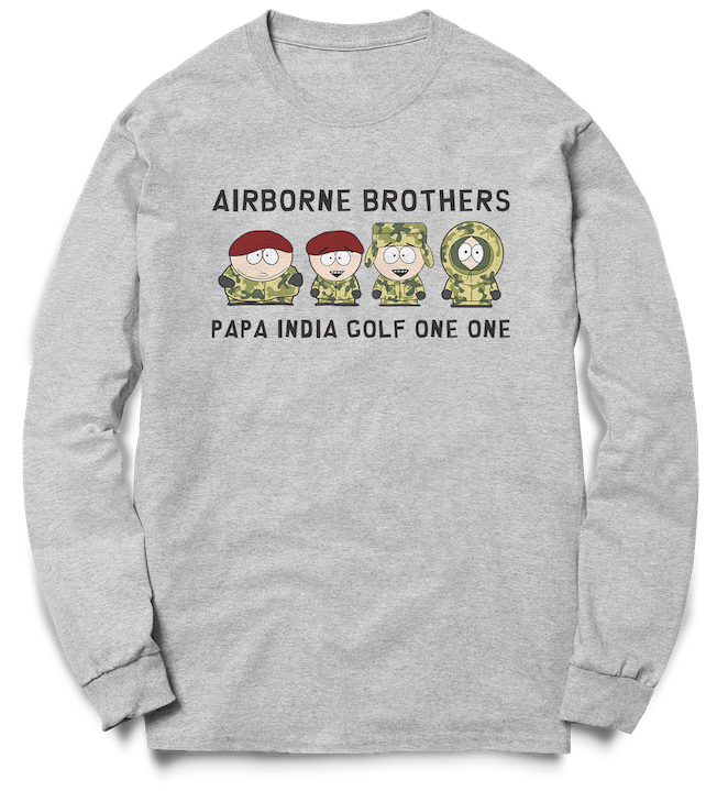 Airborne Brothers - PIG11 Crew Sweat