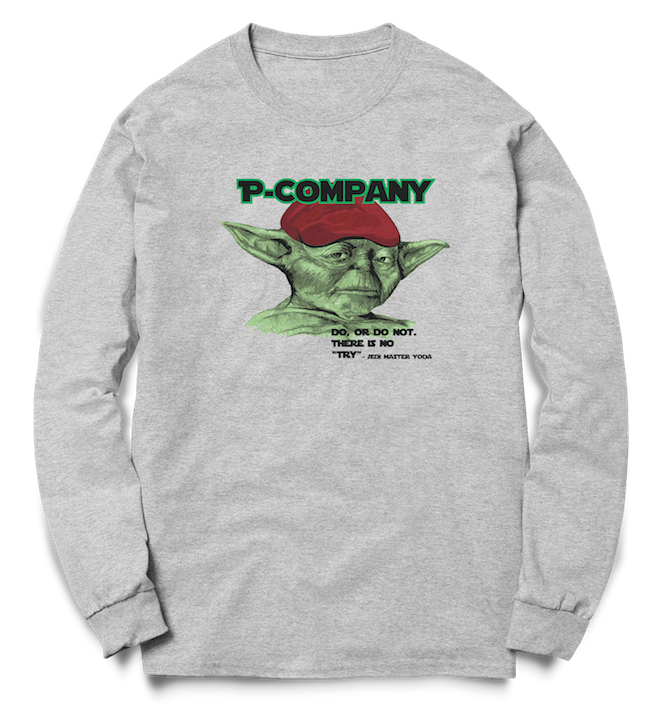 P Company Do or Do Not - Crew Sweat - Pig Emporium