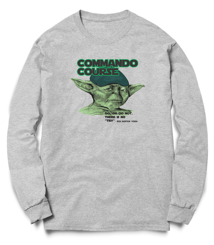 Commando Course Do or Do Not - Crew Sweat - Pig Emporium