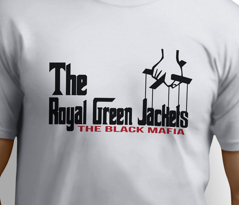British Army Royal Green Jackets (RGJ) T-shirt - The Godfather Parody - Pig Emporium