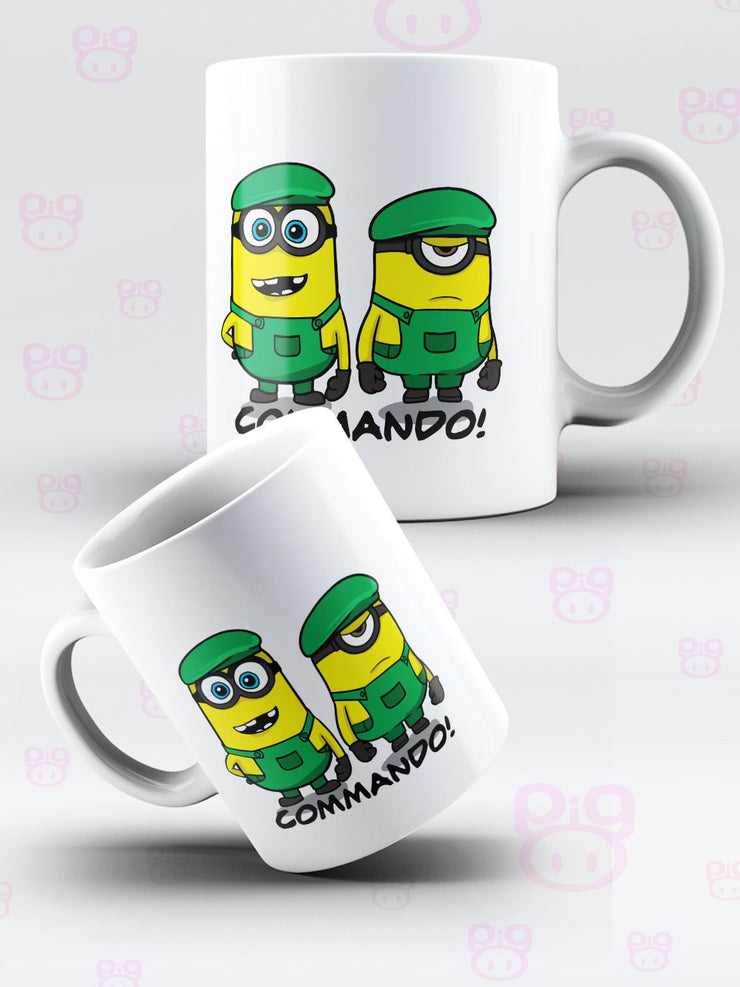 Despicable Commando Mug & Coaster - Pig Emporium