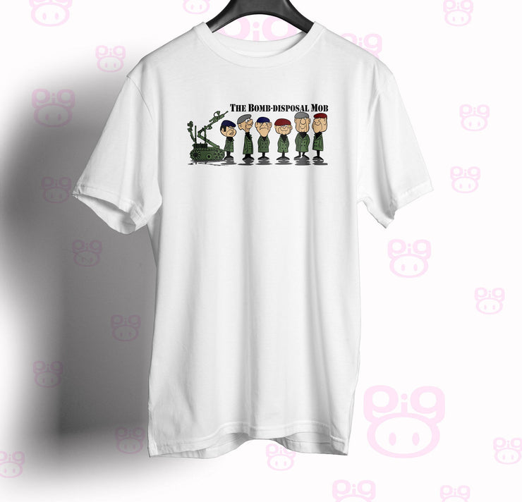 Bomb Disposal Mobsters Unisex T Shirt - Pig Emporium