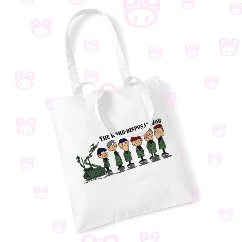 Bomb Disposal Mobsters Shopping Bag - Pig Emporium