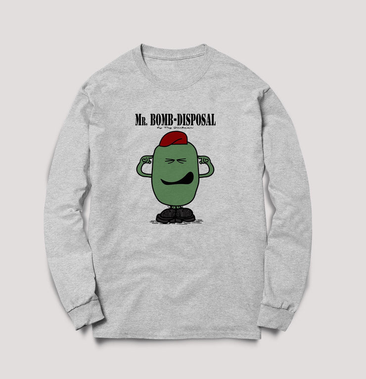 Limited Edition Mr. Airborne Bomb Disposal - Sweats - Pig Emporium
