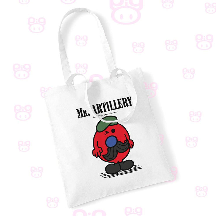 Mr Artillery Commando Tote Bag - Pig Emporium