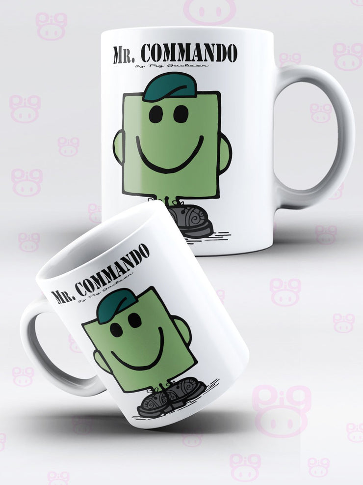 Mr Commando Mug - Pig Emporium