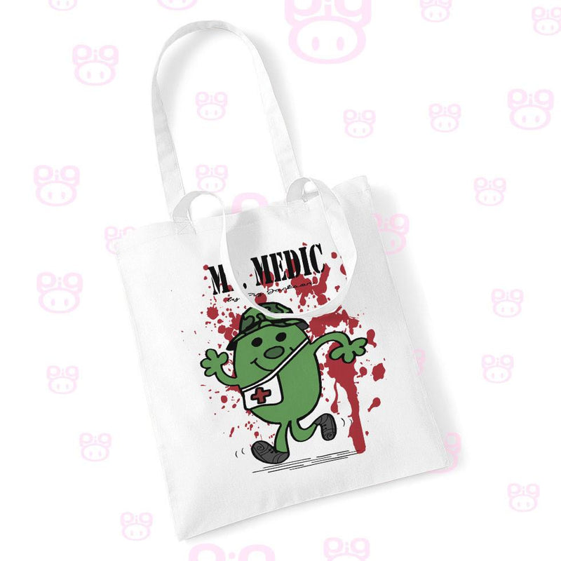 Mr. Medic Tote Bag - Pig Emporium