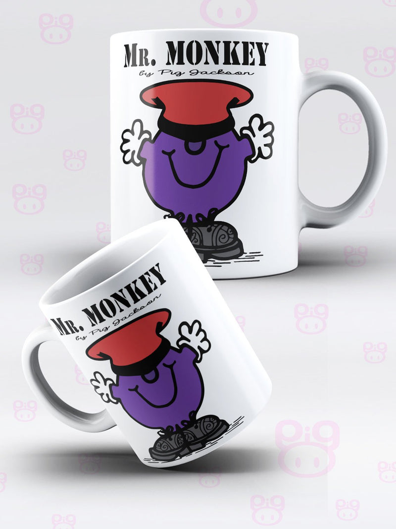 Mr Monkey Mug - Pig Emporium