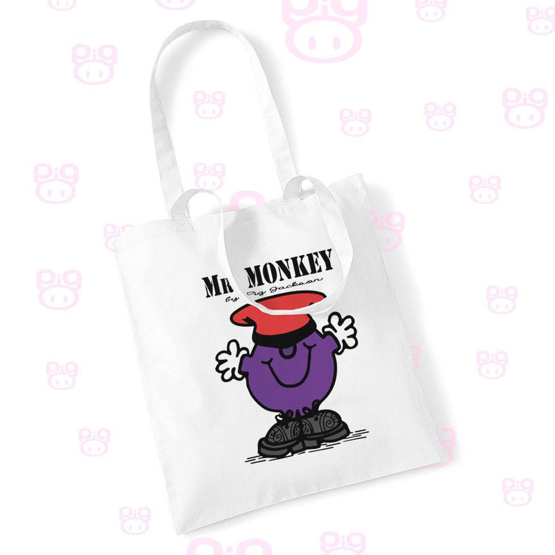 Mr Monkey Tote Bag - Pig Emporium