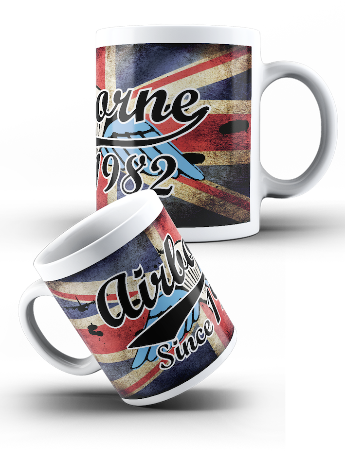 British Airborne Forces - airborne since with Wings Mug - Pig Emporium