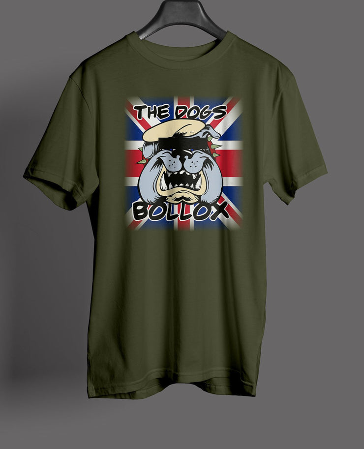 Special Forces  - Union Flag SF Dogs Bollox British Bull Dog - Fun Art Gift T-shirts - Pig Emporium