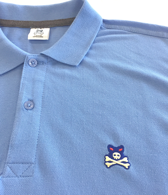 Crossbones Embroidered Chest Logo - Polo Shirt