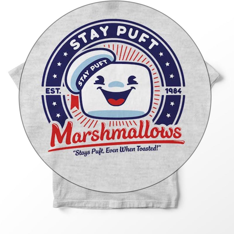 Stay Puft when toasted - Ghost Busters inspired Art Designed - T-Shirts