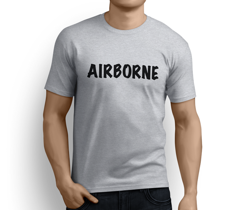 Airborne Forces Parachuting from C130 – T-shirts - Pig Emporium