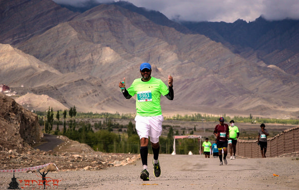 ladakh high altitude running