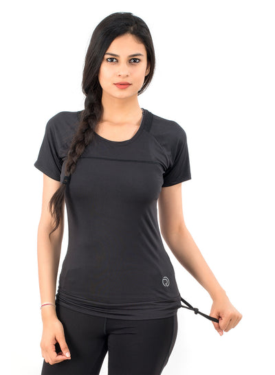 Core Technical Yoga & Training Tee- Black